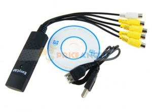 Capturadora USB 4IN