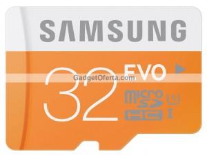 Tarjeta de memoria Samsung Evo Micro SDHC de 32GB