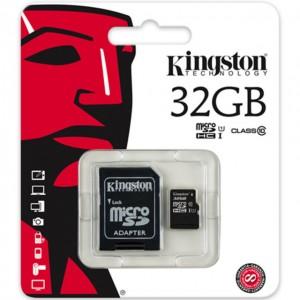Tarjetas de memoria microSDHC Kingston económicas