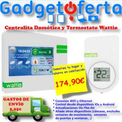 Termostato WiFi para calefacción Wattio