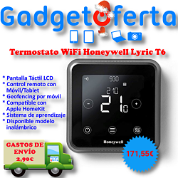 Termostato WiFi Honeywell Lyric T6