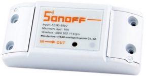 Sonoff, relé inalámbrico WiFi