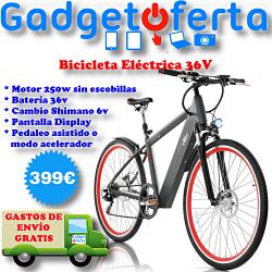 Bicicleta Eléctrica 36V