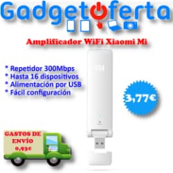 Amplificador WiFi Xiaomi Mi Repeater 300Mb