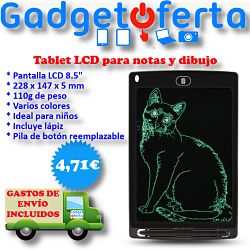 Tablet LCD Notas